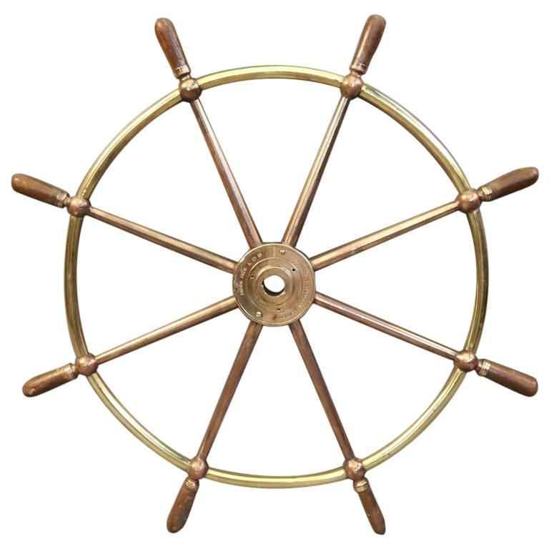 Authentic Brass Wheel