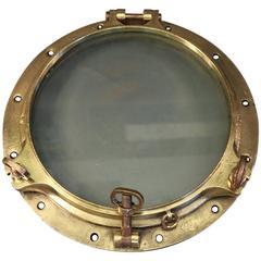Massive Brass Porthole