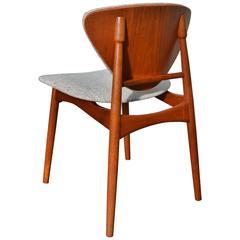 Danish Desk Chair / Side Chair Inspired by Arne Hovmand-Olsen