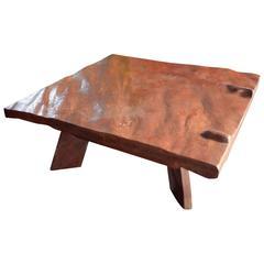 Andrianna Shamaris Banyan Wood Coffee Table