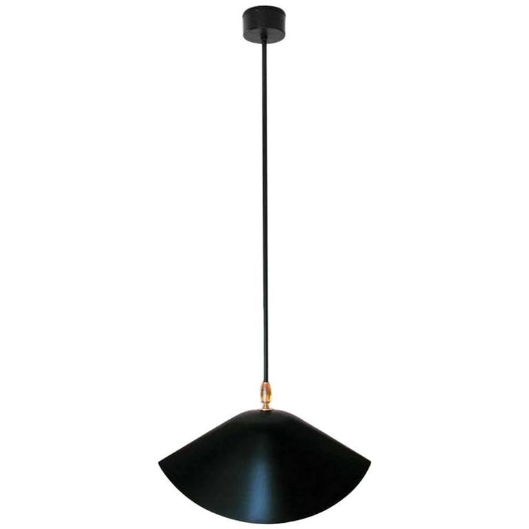 Serge Mouille Library Ceiling Lamp For Sale