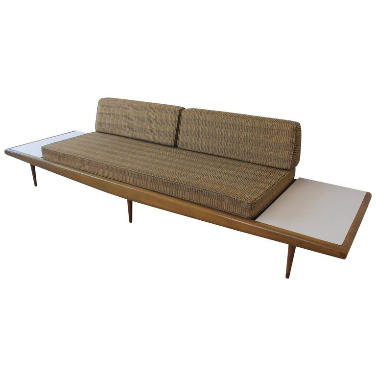 Chevron Daybed Sofa For Sale