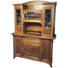 art nouveau sideboards 15 for sale at 1stdibs. Black Bedroom Furniture Sets. Home Design Ideas
