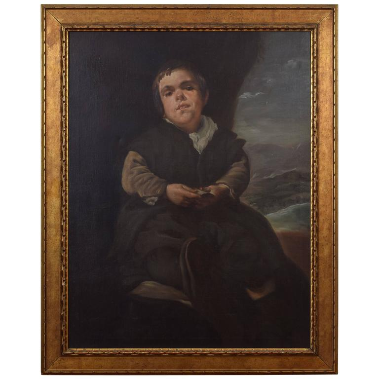 Oil on Canvas, after Diego Rodriguez de Silva y Velazquez, Early 20th Century