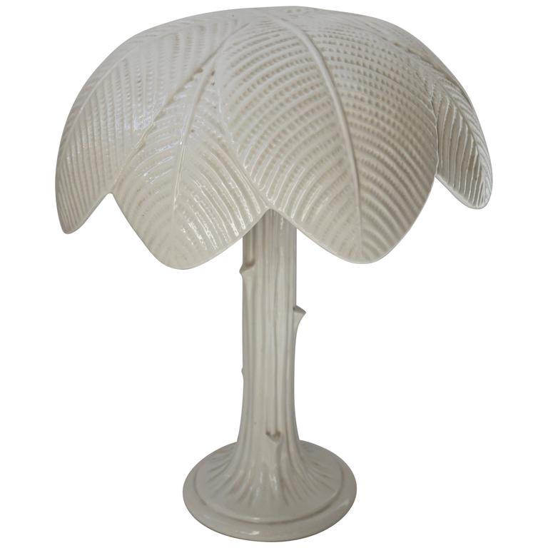 Italian Porcelain Table Lamp