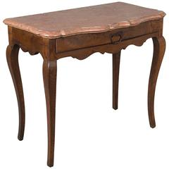 18th Century Louis XV Marble Top Console