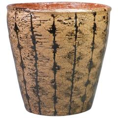 Large and Important Canadian Mid-Century Glazed Ceramic Pot