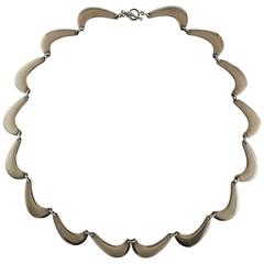 Georg Jensen Sterling Silver Nanna Ditzel Necklace #276
