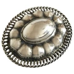 Georg Jensen Sterling Silver Brooch #155
