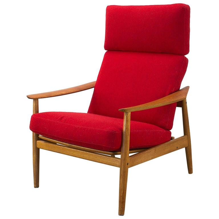 1960s Arne Vodder FD-164 Easy Chair Fauteuil for Cado