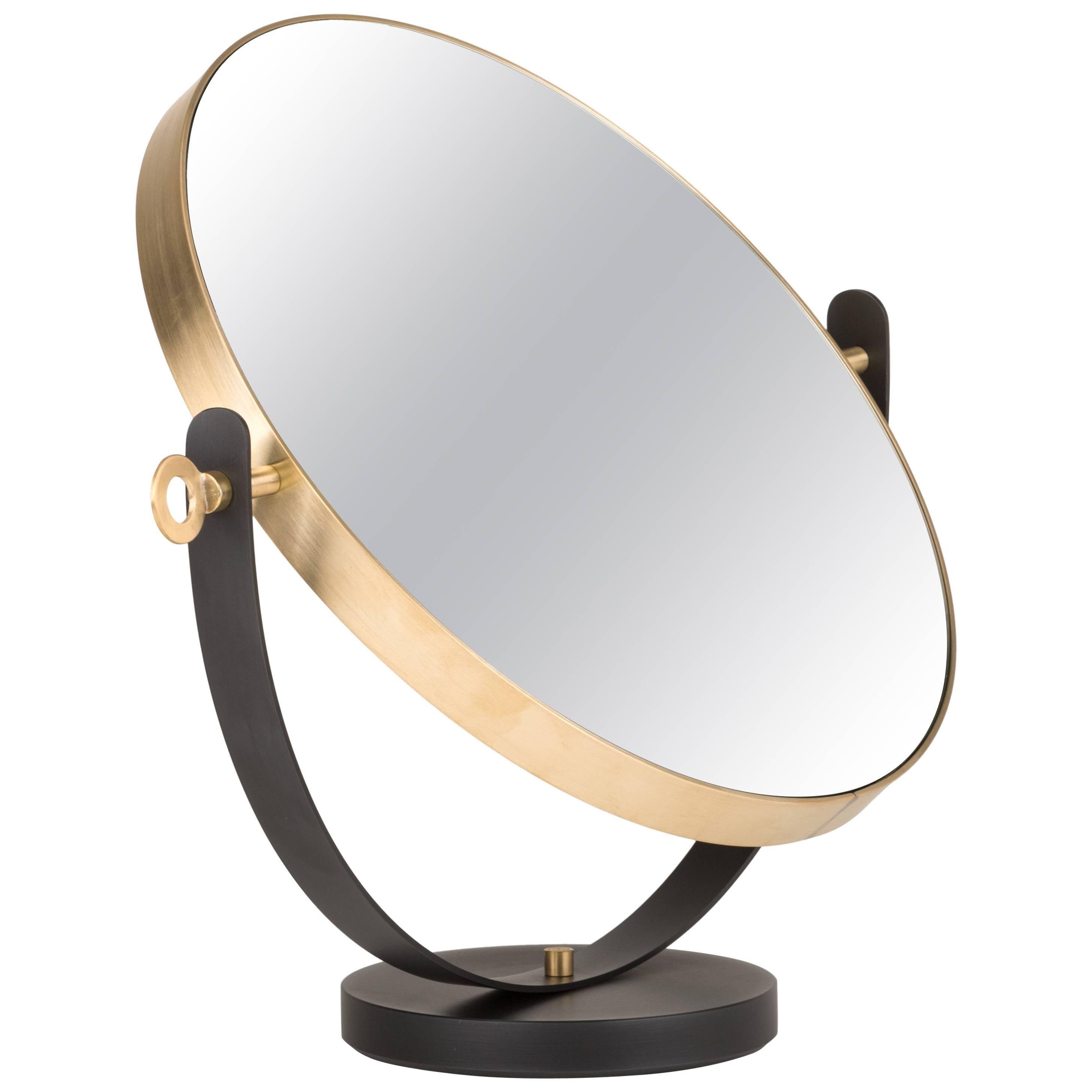 Ilario Brass Mirror Designed by Federica Biasi for Mingardo