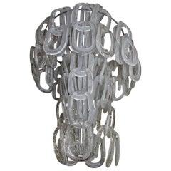 Ceiling Lamp Pop Art, 1970s Giogali Mangiarotti Original Italian Design