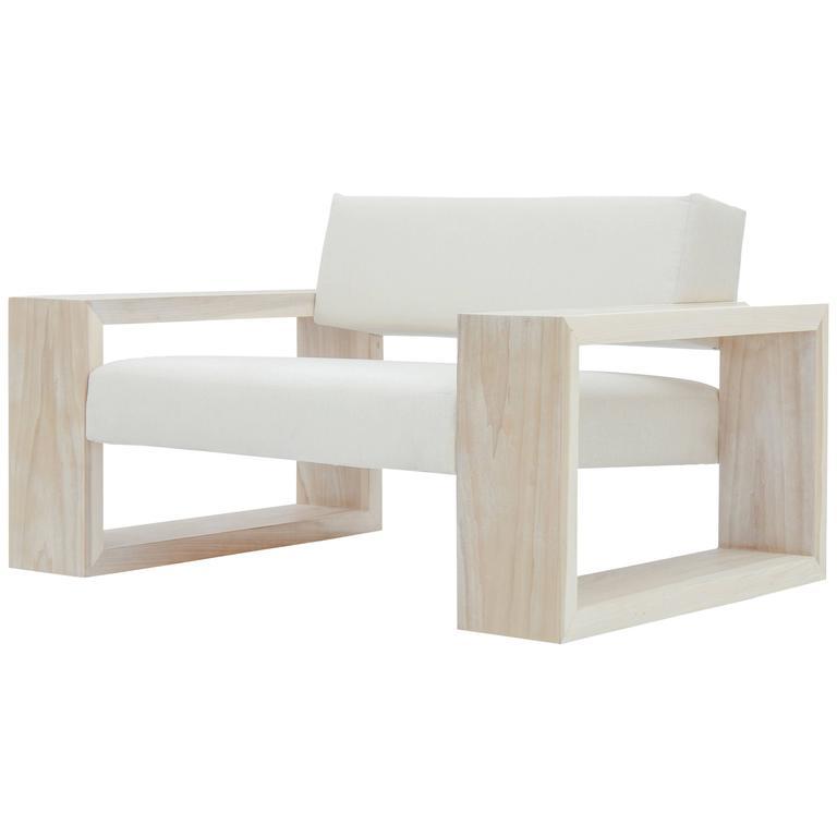 Softblock Le Blanc teak chair, new