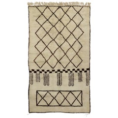 New Contemporary Berber Moroccan Rug with Modern Design and Bauhaus Style