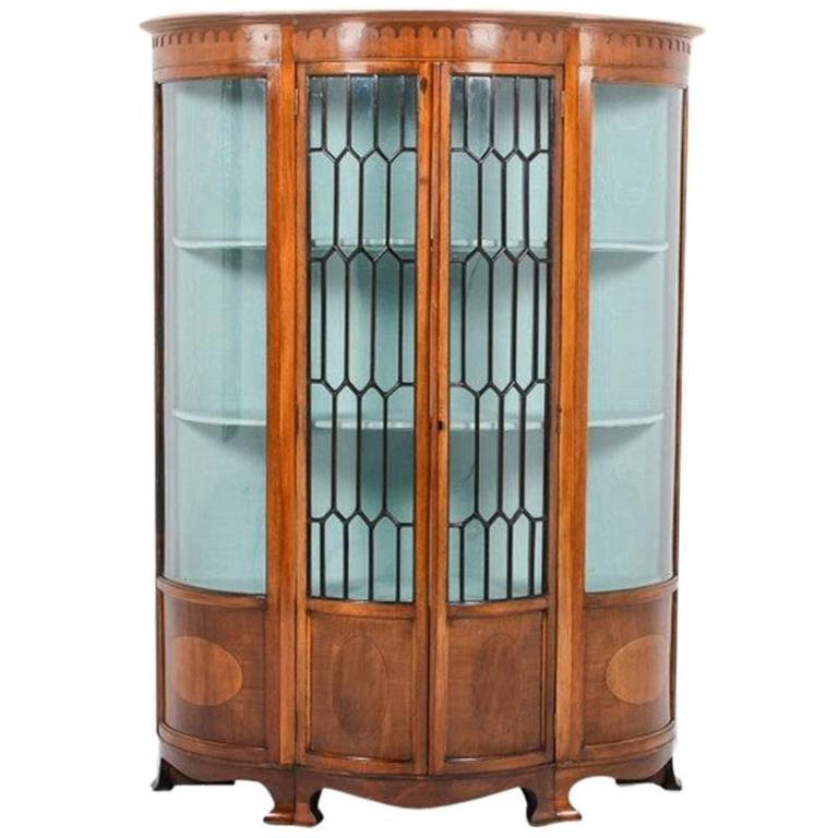Antique Edwardian China Cabinet, circa 1910 For Sale - Antique Edwardian China Cabinet, Circa 1910 At 1stdibs