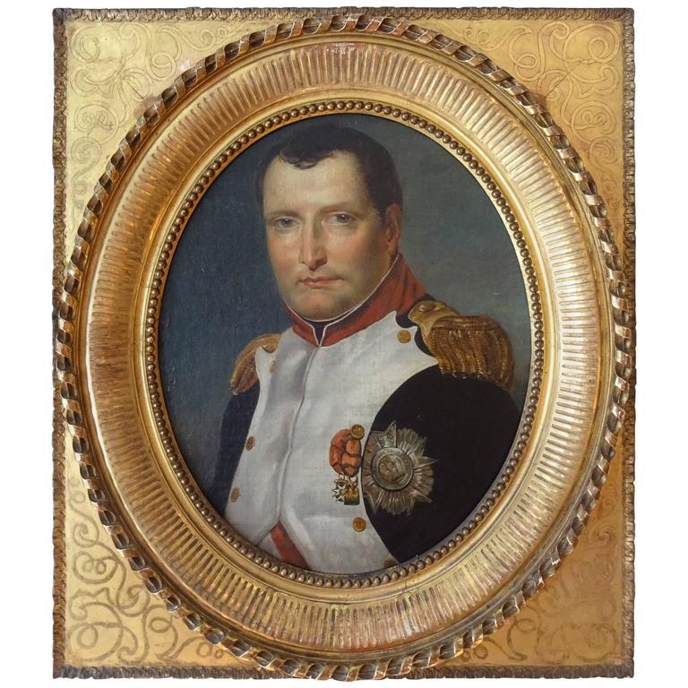Napoleon Portrait, Painting For Sale