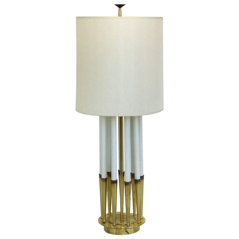 Mid-Century Table Lamp by Tommi Parzinger for Stiffel
