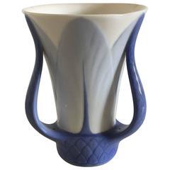 Royal Copenhagen Art Nouveau Vase with Three Handles
