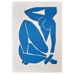 Henri Matisse Nu Bleu III Lithograph