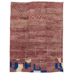Contemporary Boho Chic Moroccan Style Rug with Modern Tribal Design