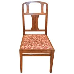 Arts and Crafts Side Walnut Chair