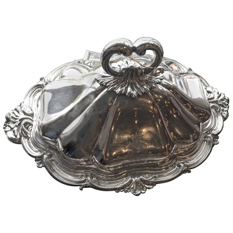 Silver Tureen, circa 1950s 1