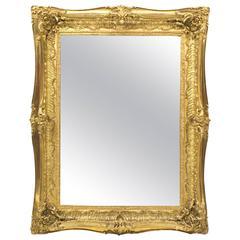Antique Victorian Giltwood Mirror, circa 1870