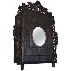 Antique Anglo Indian Carved Wall Shelf At 1stdibs