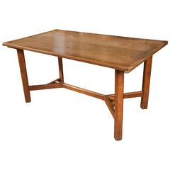 Cotswold School Arts and Crafts Oak Table