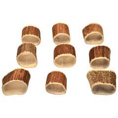 Set of Nine Napkin Rings