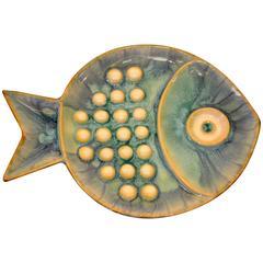Small Round Fish Platter