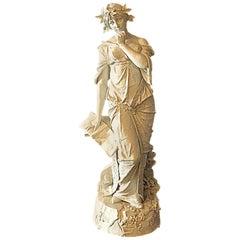 Austrian Porcelain Figurine by Ernst Wahliss, circa 1899-1900