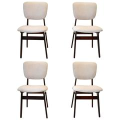Set of Four Mid-Century Chairs