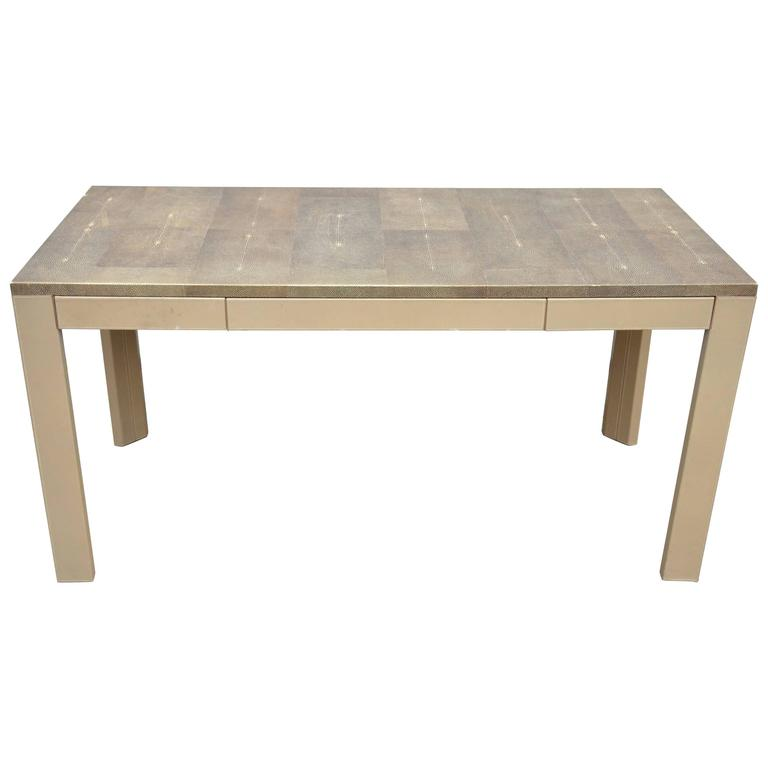 Shagreen Parsons Table For Sale