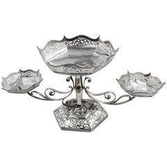 Sterling Silver English Epergne