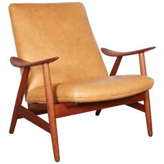 Teak Club Chair by Illum Wikkelso