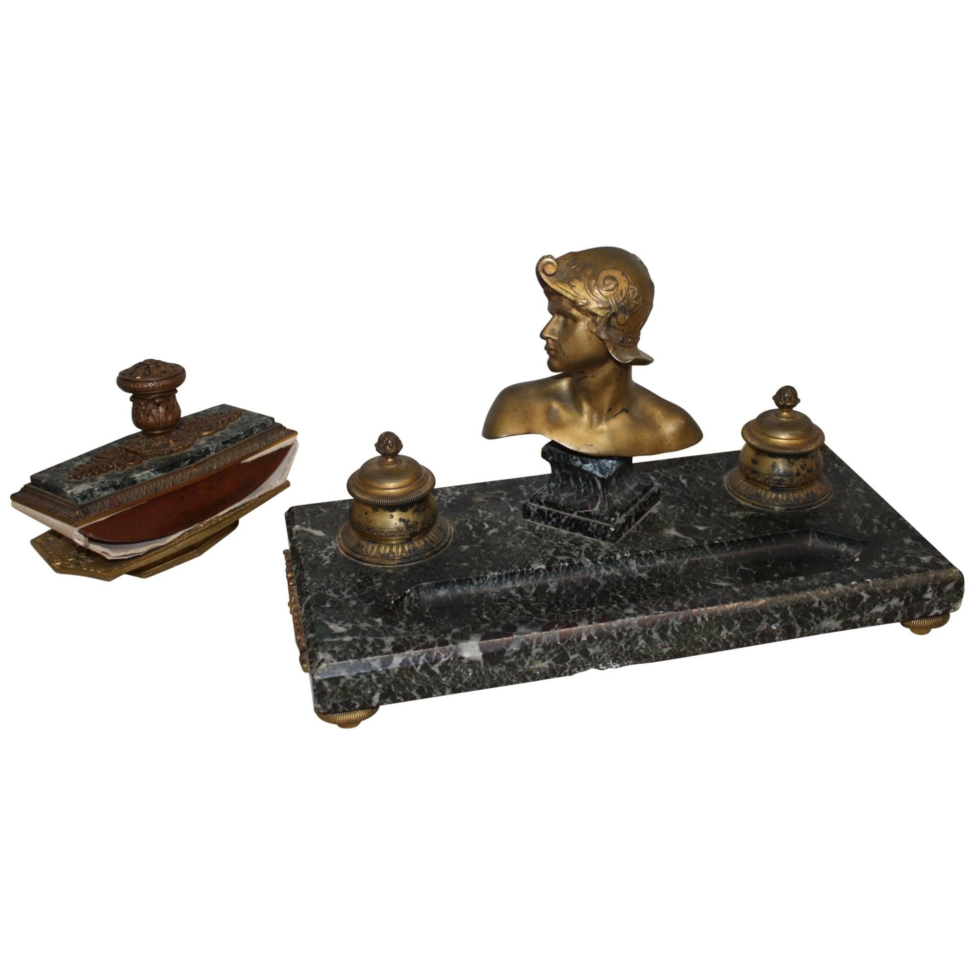 19th Century French Inkwell
