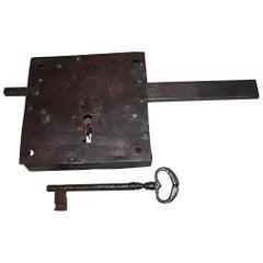 Exceptional 18th Century Lock