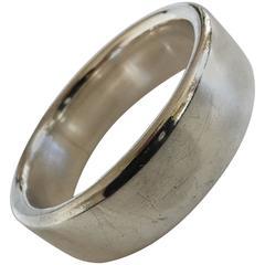 Hans Hansen Large Sterling Silver Bangle Bracelet