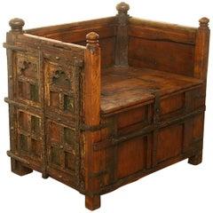Unique Dutch 17th Century Tax Collector's Chair