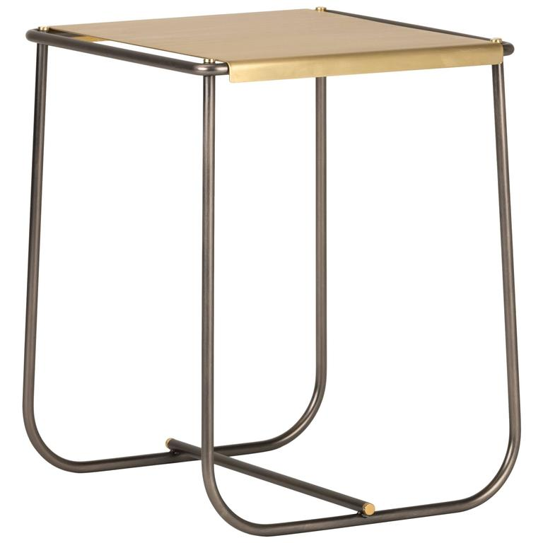 Stam Metal Stool Designed by Lido Studio for Mingardo