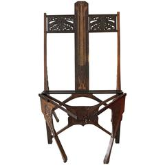 Important Portefolio Stand, Early 20th Century