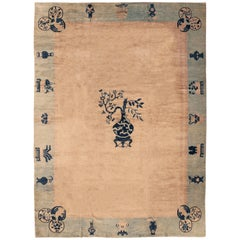 Fine Antique Chinese Peking Carpet