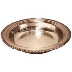 Silver Wine Plate