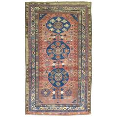 Vintage Turkish Kars Rug Influenced by 19th Century Khotan Rugs
