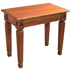19th Century Antique Side Table, Victorian Pine, circa 1860
