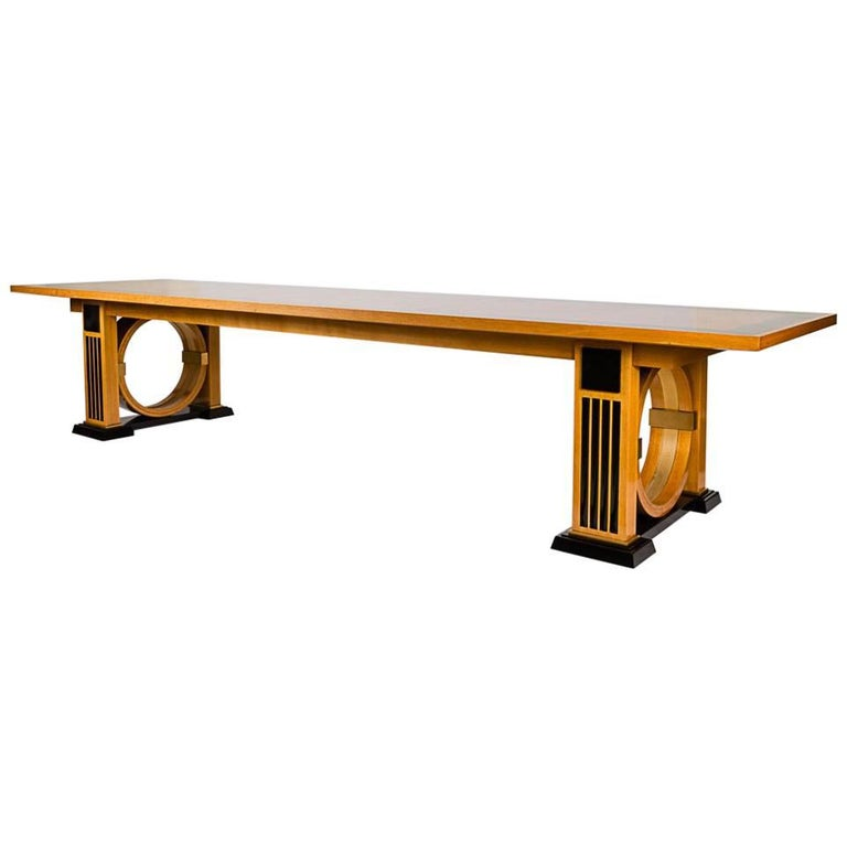 André Arbus, Conference Table, France, 1956 For Sale