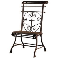 Rare Arras Prie-Dieu or Prayer Chair