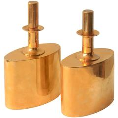 Pair of Schnapps Flasks by Pierre Forsell
