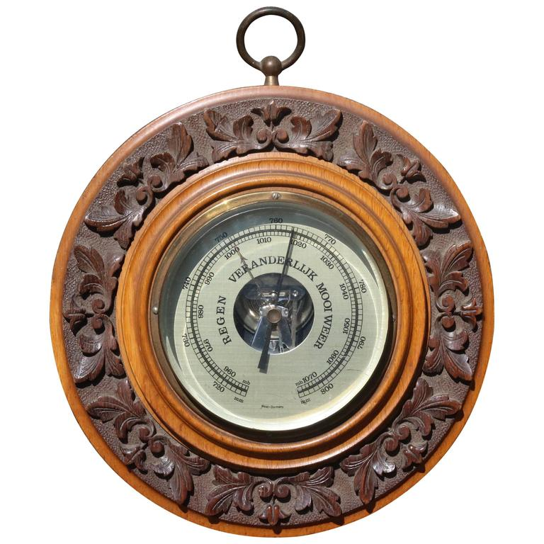 Aneroid Barometer Germany For At